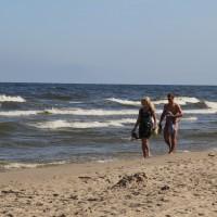 Wędrówki brzegiem morza